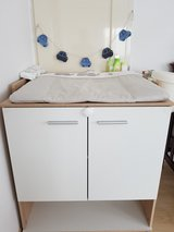 Baby Changing Table with Changing Pad in Stuttgart, GE