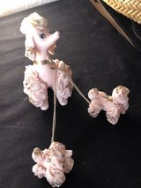 Vintage Pink Porcelain Spaghetti Poodle and Puppies in Warner Robins, Georgia