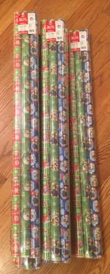 3 Pack Paw Patrol Wrapping Paper in Yorkville, Illinois
