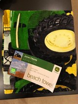 New John Deere Collection Beach Towel in Naperville, Illinois