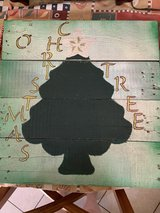 O' Christmas Tree Wooden Handmade Sign in Nellis AFB, Nevada