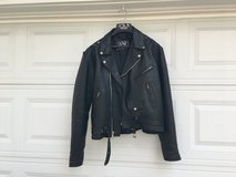 Leather motorcycle jacket in Chicago, Illinois