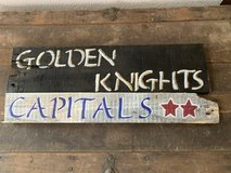 NHL Hockey Wooden Pallet Signs Customizable in Nellis AFB, Nevada