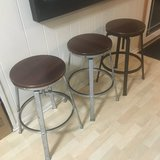 Adjustable Height Stool (3 available) in Naperville, Illinois