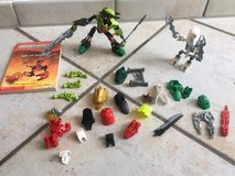Lego Bionicle pieces and book in Stuttgart, GE