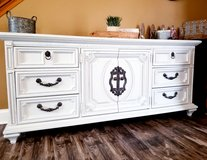 Refinished Buffet / dresser/ TV Console in Joliet, Illinois