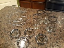 25th Anniversary Glass Set in Spring, Texas