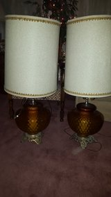 Vintage lamps in Travis AFB, California