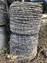 Two Full Rolls Barbed Wire, One Partial Roll in Alamogordo, New Mexico
