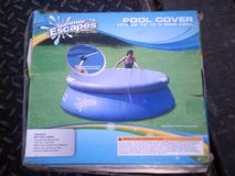 Ring pool cover, fits up to 10' round pool in Alamogordo, New Mexico