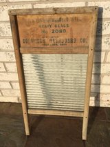 Vintage Columbus Standard Family Size Washboard in Cary, North Carolina