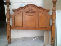 All wood Queen Size headboard only in Alamogordo, New Mexico