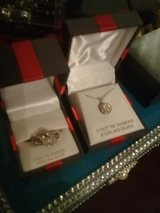 necklace and ring in Fort Campbell, Kentucky