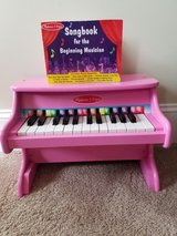 Melissa and Doug Piano and book in Beaufort, South Carolina
