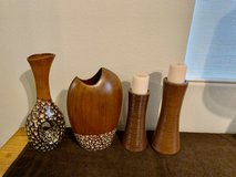 Vases and Candle Holder in Yucca Valley, California