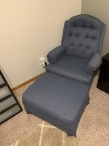 Mastercraft Chair and Ottoman in Fort Riley, Kansas