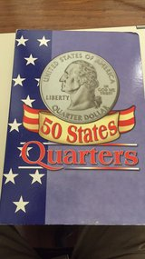 filled book of state quarters all very nice contions in Beaufort, South Carolina