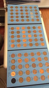 filled book of pennies from 1941-1972 all in nice condition in Beaufort, South Carolina