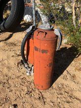 Ansul antique fire bottle in Yucca Valley, California