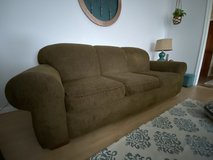Sealy Brown Couch in Kingwood, Texas