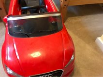 kids ride on 12 v Audi A3 in Lakenheath, UK