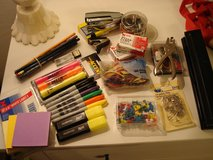 Electric Sharpener, Note Cards, Office School Supplies Staple 3 Hole Punch Sharpie Reusable Bags in Ramstein, Germany