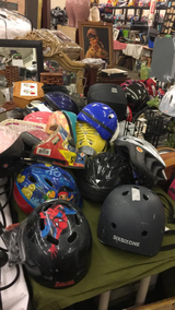Helmets in Fort Leonard Wood, Missouri