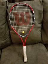 Wilson, Federer tennis racquet in Chicago, Illinois