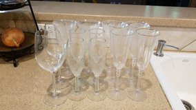 wine/champagne glasses lot in Spring, Texas
