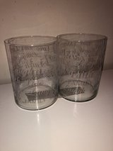 Set of 2 Decorative Large Vases 6 in Width X 8 in Height in Katy, Texas