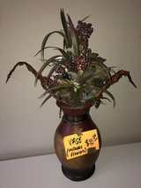Beautiful Pottery Vase with Decorative Flowers in Katy, Texas