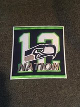 """SEATTLE SEAHAWKS 12th NATION IRON ON PATCH (6""""x6"""") *** NEW *** in Tacoma, Washington"""
