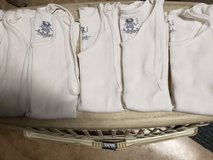 "5 like new Fruit of the Loom white tanks ""wifebeaters"" kids large in St. Charles, Illinois"