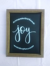 Handwritten Chalk Art - joy in Kingwood, Texas
