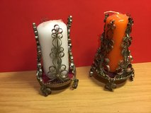 WWII - Rare POW Trench Art Candle Holders in Ramstein, Germany