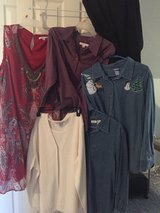 Lot of Women's large size clothes in Pleasant View, Tennessee