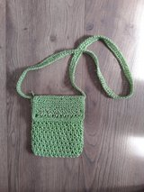 small green summer purse in Ramstein, Germany