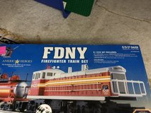 FDNY Firefighter Complete O Gauge Train Set NIB in Joliet, Illinois