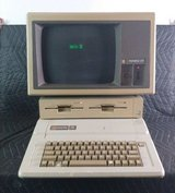 2- Vintage Apple IIe computers with some software, etc. in Eglin AFB, Florida