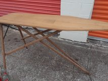 Antique ironing board in Spring, Texas