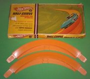 1967 Mattel Hot Wheels Half Curve 2 Pak in Plainfield, Illinois