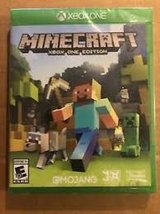 Xbox one Minecraft video game disc in like new condition in Aurora, Illinois