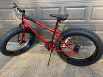 "Mongoose Dolomite Fat Tire Bike, 17-Inch/Medium Frame, 7-Speed, 26"" Tires - Virtually NEW in Kingwood, Texas"