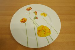 plates with floral design in Ramstein, Germany