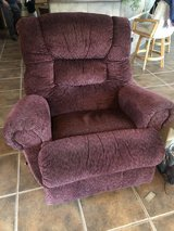 Burgundy Recliner in Alamogordo, New Mexico