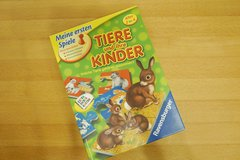 "puzzle/game ""Animals and their children"" in Ramstein, Germany"