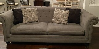 Classic Gray Couch in Kingwood, Texas