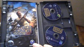 Nintendo Gamecube Medal Of Honor in Camp Lejeune, North Carolina