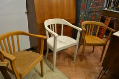 Vintage 1940's Office Chair  Armchair woodenchair Desk chair each 85€ in Wiesbaden, GE