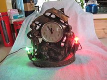 VINTAGE THE PIRATES UNITED LIGHTED MANTLE SHIPS CLOCK in Cherry Point, North Carolina
